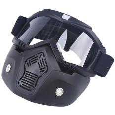 Lintas Negara Anti-kabut Helm Sepeda Motor Hidung Goggle Masker Kacamata Berkualitas Tinggi-Intl