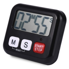 Review Pada Cs 029 Dapur Jam Digital Lcd Memasak Timer Sport Count Down Up Alarm Hitam