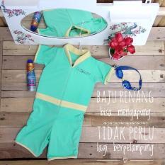 Beli Cuddleme Goswim Floating Swimsuit Baju Renang Berpelampung Size L Baby Green
