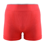 Pusat Jual Beli Cyber Pria Seamless Boxer Briefs Shorts Celana Dalam Modal Merah Indonesia