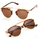 Harga Cyber Kacamata Hitam Olahraga Wanita Pria Unisex Classic Retro Vintage Style Sunglasses Brown Oem Original