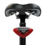 Sepeda Bersepeda Sepeda Super Bright Red 5 Led Rear Tail Light 4 Mode Lampu Untuk Seatpost Rainproof Intl Terbaru