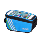 Beli Cycling Frame Front Tube Waterproof Mobile Phone Bag Blue Nyicil