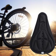 Jual Bersepeda Mtb Sepeda 3D Sadel Spons Penutup Bantalan Pad Lembut Hitam Branded Original