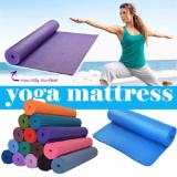 Jual Dapurbunda Matras Yoga Anti Selip Kualias Bagus Tas Matras Yoga Tebal 7Mm Matras Olahraga Orange Online