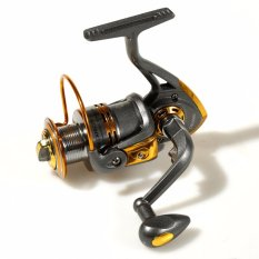 Debao Alat Gulungan Pancing DB3000A Metal Fishing Spinning Reel 10 Ball Bearing Reel Pancing Ikan Laut Sungai Fish Bahan Metal Aluminium Anti Karat Stainless Steel Gear Berkualitas for Rivers Tarikan Kuat - Gold