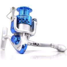 Debao CS3000 Fishing Spinning Reel 8 Ball Bearing Reel Pancing Alat Gulungan Pancing Ikan Laut Sungai Fish Bahan Metal Aluminium Tarikan Kuat Gear Berkualitas Rivers Daya Tampung Tali Banyak - Biru - Laz