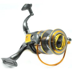 Spek Debao Gulungan Pancing Db6000A Metal Fishing Spinning Reel 10 Ball Bearing Golden Universal