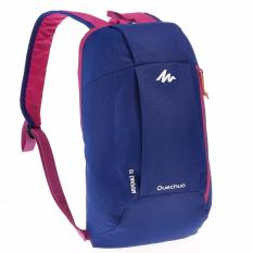 Decathlon Arpenaz 10 L day hiking backpack Tas Ransel Ringan Tas Hiking - Biru Ungu