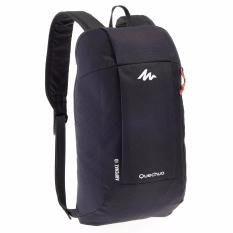 Beli Decathlon Arpenaz 10 L Day Hiking Backpack Tas Ransel Ringan Tas Hiking Hitam Pake Kartu Kredit