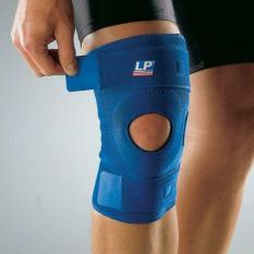 Deker Lutut LP 758 Open Patella Knee Support -  Biru