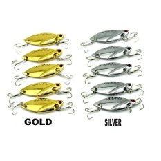 Harga Details About 10Pcs Metal Fishing Lures Bass Crankbait Spoon Crank Bait Tackle 2 Intl Baru