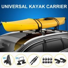 Rincian Tentang? Universal Kayak Carrier Penahan Saddle Watercraft Roof Rak Lengan Canoe Mobil Loader-Internasional By Freebang.