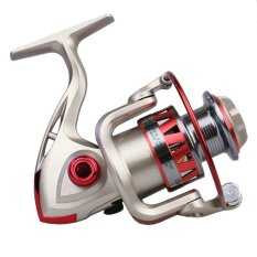 Harga Df3000 Keemasan Alat Penggulung Spinning Reel Pancing Tetap Spul Gulungan Ikan Memancing Yang Murah Dan Bagus