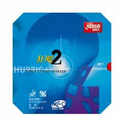 Review Dhs Hurricane 2 Neo Tenis Meja Karet Merah Intl Di Tiongkok