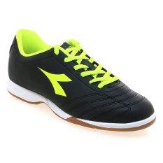 Toko Diadora 650Iiid Sepatu Futsal Hitam Fluo Yellow Murah Indonesia