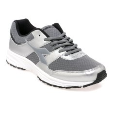 Diadora Ambrosio Sepatu Lari Pria Abu Abu Silver Diadora Diskon