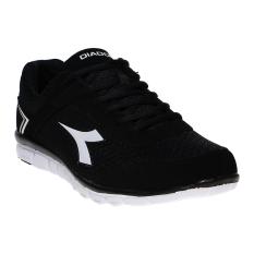 Spesifikasi Diadora Basilio Sepatu Lari Black Merk Diadora