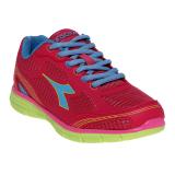 Diskon Diadora Bavista Sepatu Lari Wanita Pink Blue