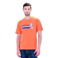 Toko Diadora Soccer Men S Tee Netherlands Oranye Murah Di Indonesia