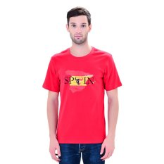 Review Diadora Soccer Men S Tee Spain Merah