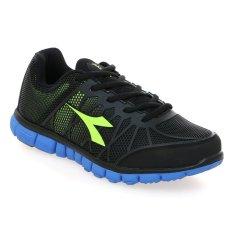 Jual Diadora Versa Sepatu Lari Pria Hitam Biru Diadora Original