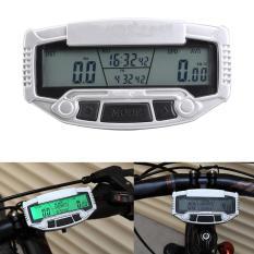 Digital Lcd Backlight Sepeda Komputer Odometer Speedometer Sepeda Stopwatch-Intl By Rainbowonline.