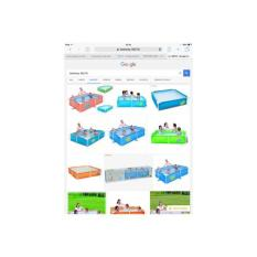 DIJAMIN TERMURAH Kolam Anak Bestway 56218 Frame Pool Kotak Besar