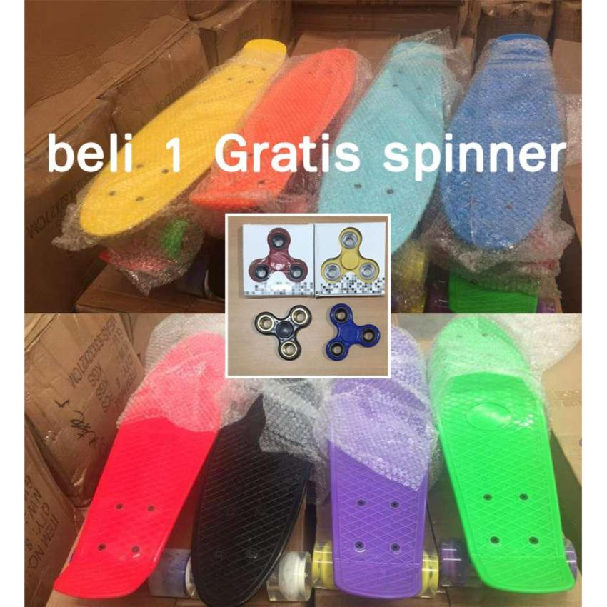 Discount Penny Fish Banana Board Pennyboard Fishboard Pu Led Wheels Murah d43f84f8e8