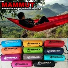 Toko Diskon Hammock Mammut Beban Max 150Kg Hamock Beban Max 150Kg Hammock Singel Termurah Di Indonesia