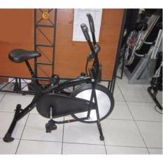 FREE ONTGKIR JABODETABEK- Divo- Sepeda Statis Platinum Bike HITAM- Sepeda fitness