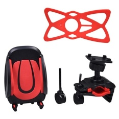 DJ Universal Bike Phone Mount Bicycle Holder For Ios, Androidsmartphones, Gps, And Other Compatible Devices