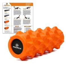 Bagian Ganda Deep Tissue Massage AccuPoint Rol EVA Sopan Training Foam Roller 31*10 Cm Trigger Point Melepaskan Ketegangan -Intl