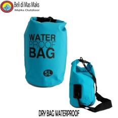 Beli Dry Bag Waterproof Tas Anti Air 5 Liter Pengaman Gadget Pakai Kartu Kredit