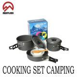 Ds 300 Cooking Set Camping Alat Masak Pendaki Lengkap Terlaris Di Jawa Barat