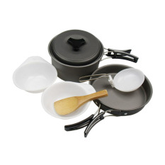 Dsc Cooking Set Ds 200 Camping Hiking Out Door Hitam Murah
