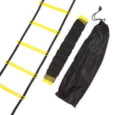 Tahan Lama 11 Rung 18 Kaki 6 M Kelincahan Tangga untuk Soccer Kecepatan Latihan-Intl