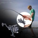 Spesifikasi Durable Spinning Reel Front Rear Drag Fishing Wheel Tackle Accessory 30Fr Intl Terbaik