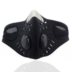 Promo Tahan Terhadap Debu Topeng Ski Sepeda Motor Anti By Pollution Olahraga Masker Mulut Meredam Tahan Terhadap Debu Dengan Menggunakan Filter Karbon Aktif Oem