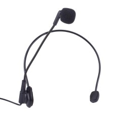 Spesifikasi Dinamis Wired Head Mounted Headworn Headset Mikrofon Mic Ringan 3 5Mm Intl