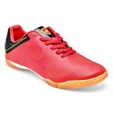 Beli Eagle Anfield Sepatu Futsal Merah Hitam Pakai Kartu Kredit