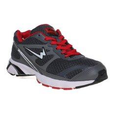 Toko Eagle Ecolight Sepatu Lari Pria Dark Grey Dark Red Terdekat