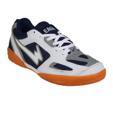 Eagle New England Sepatu Badminton/Bulu Tangkis - Nvy/Gry