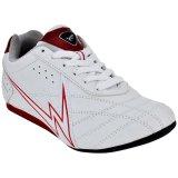 Beli Eagle Newton Sepatu Taekwondo Putih Merah Online