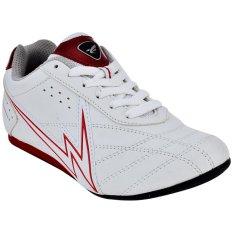 Cuci Gudang Eagle Newton Sepatu Taekwondo Putih Merah