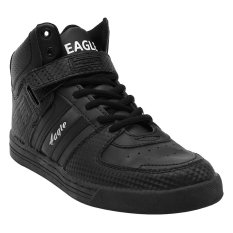 Model Eagle Sepatu Lari Jason Hitam Terbaru