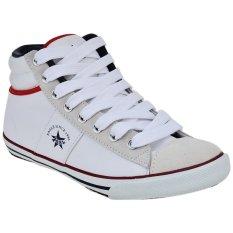 Spesifikasi Eagle Sepatu Lari Philadelphia Putih Merah Biru Navy Terbaik