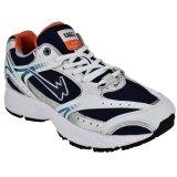 Beli Eagle Sepatu Lari Tomahawk Biru Navy Putih Silver Kredit
