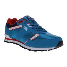 Beli Eagle Sigma Sepatu Sneakers Biru Dark Red Cicil