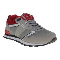 Diskon Eagle Sigma Sepatu Sneakers Light Grey Navy